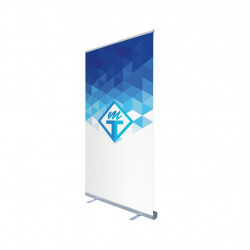 Roll-up 120 x 200, vuota ja painatus