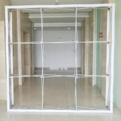 Pop Up seinä 3x2.25m suora