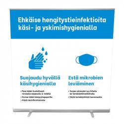 Hygieniaohjeistus Roll-up...