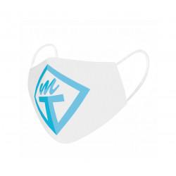 Kangasmaski omalla logolla